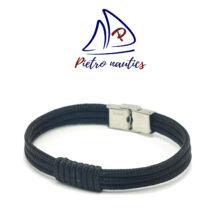 Fekete színű vitorlás karkötő