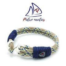 Kígyómintás vitorlás karkötő