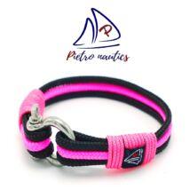 pietro-nautics-fekete-neon-rozsaszin-szinu-vitorlas-karkoto-3mm-seklis-3soros