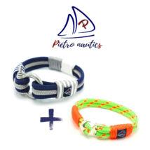 pietro-nautics-sotetkek-ezust-feher-seklis-xxl-3soros-neonzold-neonnarancs-horgonyos-4mm-2soros