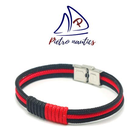 pietro-nautics-fekete-piros-szinu-vitorlas-karkoto-duo-3mm-orakapoccsal-3soros