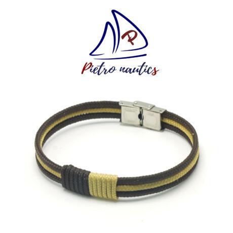 pietro-nautics-sotetbarna-bezs-szinu-vitorlas-karkoto-3mm-3soros-orakapoccsal