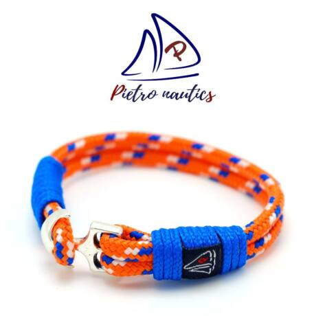 pietro-nautics-neon-narancs-vilagoskek-feher-mintas-vitorlas-karkoto-4mm-horgonyos-2soros