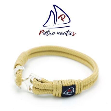 Bézs színű vitorlás karkötő