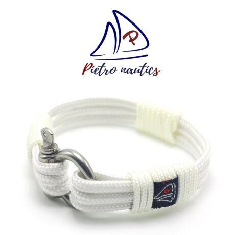 Fehér színű vitorlás karkötő