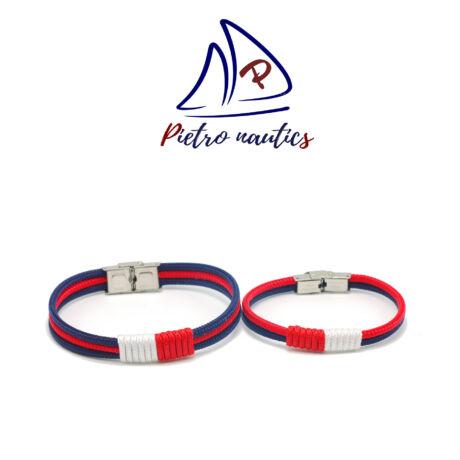 pietro-nautics-sotetkek-piros-szinu-vitorlas-karkoto-piros-feher-atkotessel-duo-3mm-3soros-2soros-orakapoccsal-paros