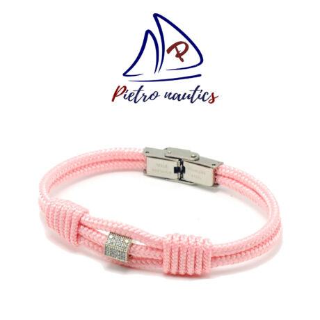 pietro-nautics-halvany-rozsaszin-vitorlas-karkoto-ezust-strasszos-köztessel-3mm-orakapcsos
