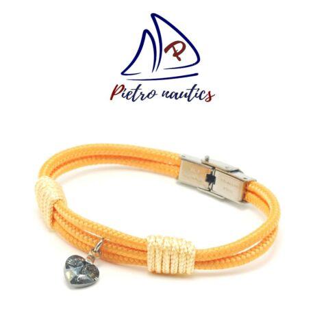 pietro-nautics-halvany-narancs-szinu-vitorlas-karkoto-szurke-swarovski-szivvel-3mm-orakapcsos