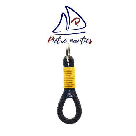 pietro-nautics-fekete-kulcstarto-mustar-szinu-atkotessel