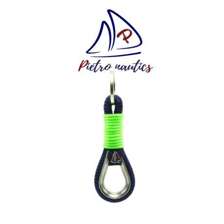 pietro-nautics-sotetkek-kulcstarto-neon-zold-kulcstarto-atkotessel-kotelszivvel